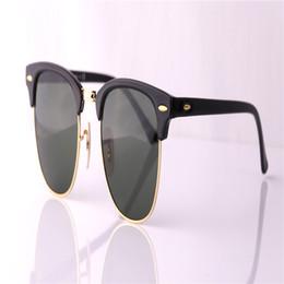 Wholesale Male Fashion Sunglasses - Fashion Luxury Designer Vintage Sun Glasses Polarized Mirror Driving Sunglasses Male Oculos masculino For Women