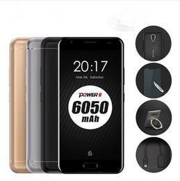 Wholesale Micro Usb 64gb - Original Ulefone Power 2 Android 7.0 SmartPhone MTK6750T Octa Core 5.5 Inch 4G RAM 64G ROM OTG Touch ID