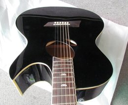 Wholesale Double Acoustic - Wholesale- double hole acoustic guitar with eq