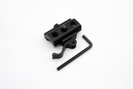 Wholesale Detachable Sling Swivels - Quick Detach Release Bipod Sling Swivel Adapter QD Quick Detachable for 20mm Picatinny Weaver Rail Hunting Accessories