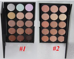 Wholesale Eyeshadow Platte - 15 color Concealer platte Makeup Face Concealer Professional Concealer Foundation Contour Face Cream VS kylie eyeshadow