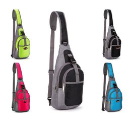 Wholesale Cool Vintage Travel Hiking Climbing Back Pack Cross Body Outdoors Sports bags Triangle Sling Chest Bag