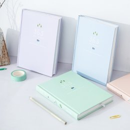 Wholesale Weekly Planners - Wholesale- Korean Kawaii Cute Flower Schedule Planner Weekly Monthly Yearly Planner Organizer Notebook Kawaii Agenda 2017 Stationery Store