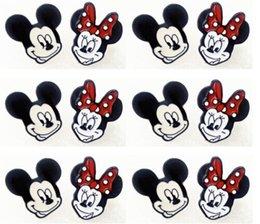 Wholesale Minnie Earring - Hot Sale 1pairs minnie mickey Stud Earring Fashion Cute Earrings For Women B--17