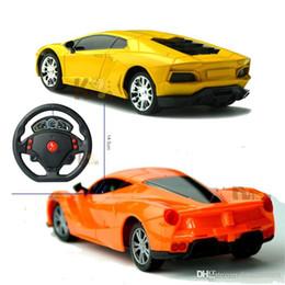 Wholesale Children Steering Wheel - Car-styling 2017 LED light steering wheel gravity sensing toys speedcross remote control car toys for children 1:24 Car model