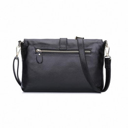 Wholesale Summer Messenger Bags - Women's genuine leather Messenger Bags Fashion Vintage Small real Leather Handbag New Summer Casual crossbody Bag
