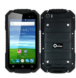 Wholesale Dustproof Android - Original Oeina XP7700 Phone With MTK6580M Quad Core Android 5.0 3G WiFi 4.5 Inch IP67 Real Waterproof Dustproof Shockproof Phone tnt post