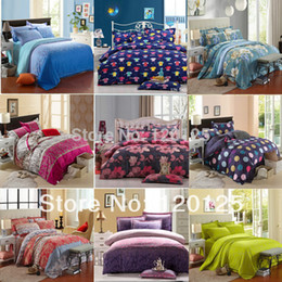 Wholesale King Sheet Sets Cotton - Wholesale- NEWLY LUXURY bedding set ,Include Duvet Cover Bed sheet Pillowcase Wholesale