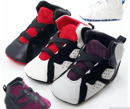 Wholesale Infant Baby Walker - Newdesign Baby Boy & Girl Shoes PU Leather Hook & Loop Spring Autumn Infant Toddler First Walkers Shoes Baby sports shoes