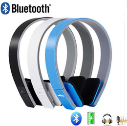 Wholesale Wireless Navigation - Wireless Bluetooth V4.1+EDR Headset BQ-618 headphone Support Handsfree with Intelligent Voice Navigation for PC Mobile Phone with retail box