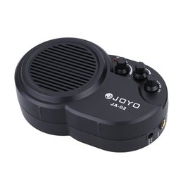 Wholesale Joyo Distortion - High Quality JOYO JA-02 3W Mini Electric Guitar Amp Amplifier Speaker with Volume Tone Distortion Control