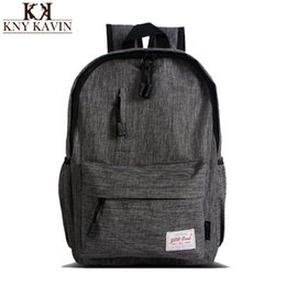 Wholesale Pretty Backpacks - Wholesale- Women school backpack pretty style canvas school bags for teenagers girls schoolbags leisure backpack Laptop Backpacks Female
