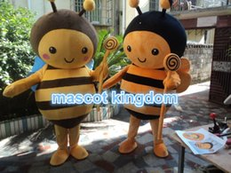 Wholesale Fancy Dress Bee - Best Bee Mascot Costume 1 PCS Fancy Dress Good quality Free Ship Adult