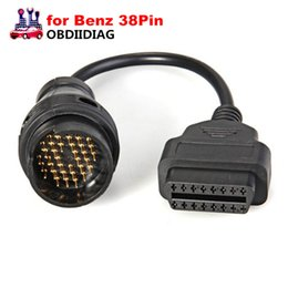 Wholesale Obd 16 Pin Connector - for Mercedes 38 Pin OBD OBD2 16 Pin Female Connector for benz OBD II Diagnosis Cable for OBDII Car Tools