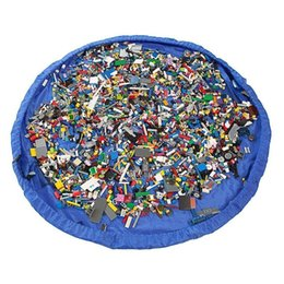 "Wholesale Large Bedding Set - Large 60"" Diameter Toy Storage Bag and Children Play Mat"