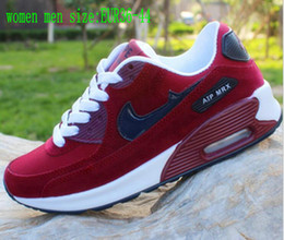 Wholesale Red Mahogany - 2017 fashion brands Casual Shoes 90 men and women cortez shoes leisure Shells shoes Leather fashion outdoor Sneakers