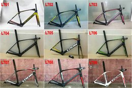 Wholesale Look Full Carbon Road Bike - Road Bicycle Frame LOOK 795 Glossy Full Carbon Road Frameset Complete Carbon Frame many colors choose