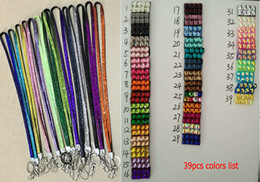 Wholesale Mobile Phone Accessories Bling - New Arrivals Cell Phone Straps Charms Keys Lanyard Mobile Accessories Alloy Rhinestone Bling Mixed Color CX288 Free Shipping