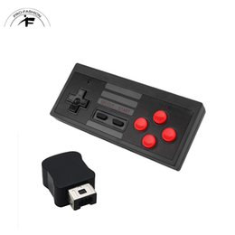 Joypad usb online-Wireless Wire USB Game Controller Gamer Joystick Joypad Gaming para NES Windows PC para Nintendo Game Controller Game