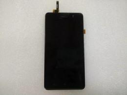 2019 digitalizador de telefonía móvil Al por mayor- Pantalla LCD de alta calidad + Cristal táctil de la pantalla táctil para Lenovo P780 Teléfono móvil 1280 * 720 Envío gratis Color negro con marco digitalizador de telefonía móvil baratos