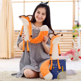 Wholesale Little Real Dolls - Animals Stuffed Plush Animals 1pcs Newest 60cm Real The Little Prince Fox Plush Dolls Little Prince And The Fox Stuffed