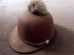 Wholesale Small Christmas Balls - Korean Fur Hats For Child Hat Kids Unisex Baseball Caps Along Children's Hair Ball Solid Felt Hat Dome Equestrian Small hat