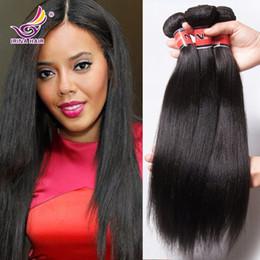 Wholesale Brazilian Yaki - New Arrival Brazilian Yaki Human Hair Top Grade Light Yaki Unprocessed Yaki Hair Extensions Cheap Brazilian Virgin Hair Bundle