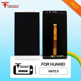 Wholesale High Mate - High Quality AAA+++ for HUAWEI Mate 7 Mate 8 Mate 9 LCD Display & Touch Screen Digitizer W No Frame Assembly Replacement Touch Panel
