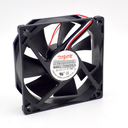 9cm fan Promo Codes - Wholesale- TD9025LS 9cm 90mm DC12V 0.16A Hydraulic Bearing server inverter cooling fan