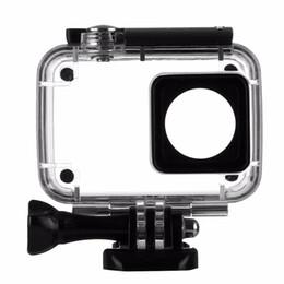 Wholesale Mask For Head - 45m Diving Waterproof Case For Xiaomi Yi 4K 2 II Action Camera Xiaoyi Case 4 K Yi Accessories