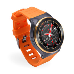 Wholesale Quadcore Phones - SF13 Android 5.1 Smartwatches GT88 KW88 QuadCore 1.3G MTK6580 512MB+ 8GB 3G WCDMA GPS WIFI Camera 3.0 Heart Monitor