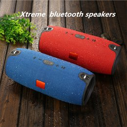 Wholesale Xtreme Bluetooth - Mini Xtreme Bluetooth speakers outdoor subwoofer waterproof stereo portable speaker MP3 player wireless bluetooth hifi for phone and tablet