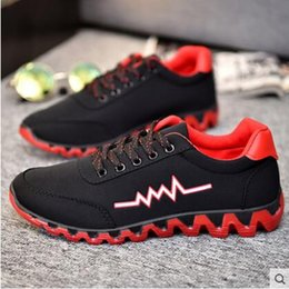 Wholesale American Canvas Shoes - Free shipping Men casual shoes Breathable Lace up Walk shoes Cloth material One to sell Wholesale Light weight American European pop 39-44