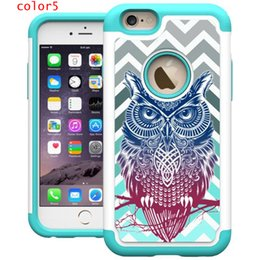 Wholesale Paint Products - Painting Sticker Cases For Iphone 7 7Plus Silicone+ PC Dirt-resistant Shockproof Cell Phone Case Hot sale products