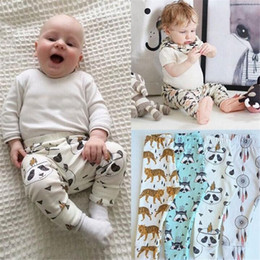 Wholesale Harem Pants For Toddlers - Baby Pants Boys Clothing Girls Cotton Baby INS Harem Kids Pants Cartoon Pands Pants for Toddler Baby Children Clothes Trousers