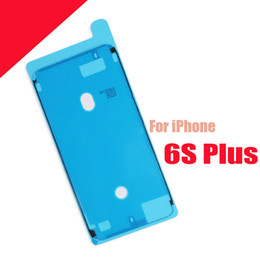 Wholesale 3m Brand Tape - Brand New Waterproof 3M Pre-Cut Adhesive Glue Tape For iPhone 7 6S 5.5 Plus Front Housing Frame Sticker Free shipping