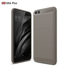 Wholesale Xiaomi Hongmi Cover - New Arrival High Quality For Xiaomi 5x Case Carbon Fiber Brushed TPU Case Accessory For Hongmi NOTE4 Protective Back Cover