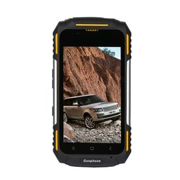 Caméra 8 go à vendre-Wholesale Outdoor Waterproof Rugged Smartphone 4 pouces Android 5.1 Quad Core 1 Go RAM 8 Go ROM 3200mAh 8MP 3G WCDMA GPS Guophone V88