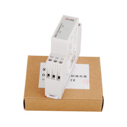 Wholesale Relay Protection - LDG DIN Rail Mounting Three Phase Protection Monitoring Relay DPA51CM44 for Phase Sequence and Loss 208-480VAC One Module