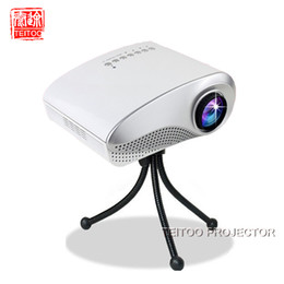 Wholesale Mini Projection Screen - Wholesale-White Multimedia Home Cinema Mini LED Projector,Support HDMI USB SD AV TV,Portable Cheap Projection Screen in Store for Sale