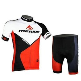 Wholesale Merida Team - 2015 New Arrival team Merida cycling jerseys set with short sleeve and tight shorts with quick dry breathable anti UV features