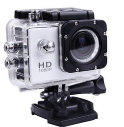 Wholesale Blue Sd Card - Free send pos- 2017 new SJ4000 freestyle 2inch LCD 1080P Full HD HDMI action camera 30 meters waterproof DV camera sports helmet SJcam DVR00