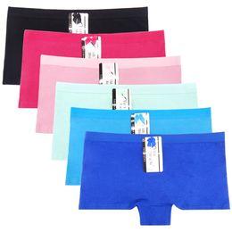 Wholesale Sexy Boy Shorts Panties - (MOQ 12pcs) Yun Meng Ni Sexy Underwear Breathable Cotton Boyshort Plain Color Women Panties Hipsiter Lingerie