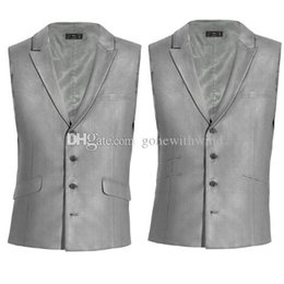 Wholesale Mens Double Breasted Vests - new arrival prom tuxedos vests 2017 wedding grom vests mens tuxedos for prom wedding eveing party dinner