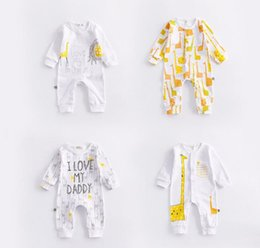Wholesale Cool Clothing Baby Girl - Ins Baby kids girl 100% cotton emtion print sleeveless romper kids girl summer cool clothing romper free ship 66-73-80-90-100cm