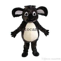 Wholesale Mascot Animal Costume Koala - Big Cute High Quality animal Koala Furry Polar Cartoon Mascot Costume Party Fancy Dress