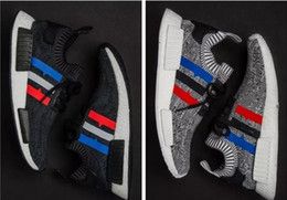 Wholesale Shoes Running Trainers - 2017 Newest NMD Runner PK R1 Women Mens NMD XR1 Running Shoes White Pink Black BB2887 Trainer Sneaker Shoes Size 36-45