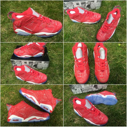 Wholesale Polyester Fabric Names - 2017 Retro 6 VI Slam Dunk Name Brand men basketball Shoes jumpman 6s Basket Footwear Outdoor Hot Sell 6 Sports Athletic Trainers Online