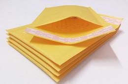 Gelbe blasenpaket online-Gelbe Kraftpapier Bubble Envelope Bags und Express Bubble Envelope Bags mit Schutz der Verpackung feuchtigkeitsgeschützt Shock-Proof und High vi