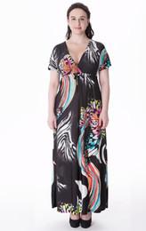 Wholesale Butterfly Print Dresses For Women - Hot Sale Spring Summer Long Dresses for Women Big Butterfly Rainbow Printed Beach Bandage Dress Oversized dress XL~6XL SQ-026